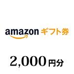 (Web限定)Amazonギフト券 2,000円分