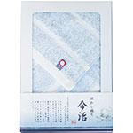 今治ぼかし織り ハンドタオル(ブルー)